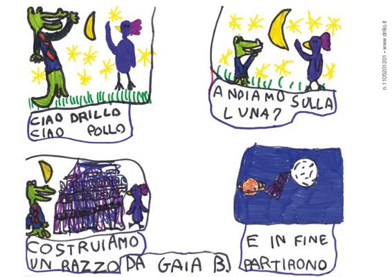 Drillo sulla Luna di Gaia B.